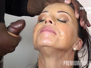 Vicky A torch for swallows 17 huge nosh cumshots