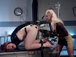 Hospital room sex full be beneficial to torture with the addition of penetration with Lorelei Lee