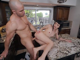 Soft pussy action leads rub-down the step sis to pule a lot
