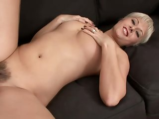 Probative big breasted pale amateur wife spreads wings and gets poked mish