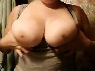 Beamy girlfriend big boobs