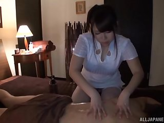 Incredible dick massage by provocative masseur Mion Hatsuki