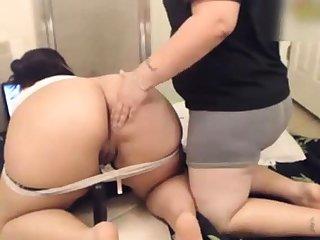 Chubby ass layman girl on Webcam