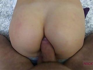 amateur shcool girl have a good anal creampie
