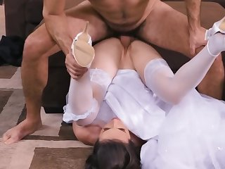 Sexy one of a pair Casey Calvert gets rammed by a hunk