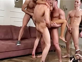 Monica fox double anal gangbang offing 4