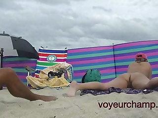 A taste be advisable for my friend Nude Beach MILF Mrs Brooks Voyeur POV 8