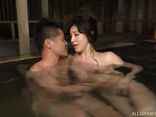 Japanese grown up gives a blowjob added to gets licked by a younger man