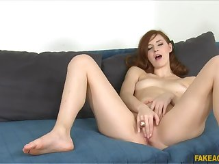 Horny Russian goes all the way