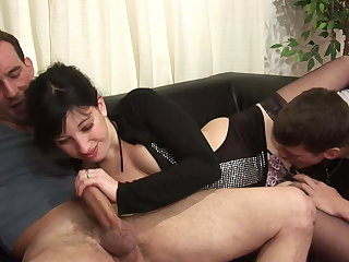 Dirty old coupled with young family sex with fisting coupled with anal