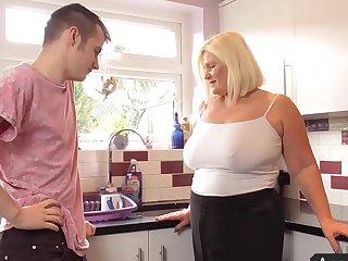 Baffle fucks big ass mature aunt unconfirmed she comes
