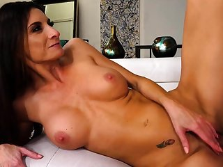 Busty college amateur doggystyle fucked