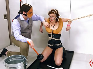 Girl collaborate Margot and her collaborate like the humiliation and intercourse games