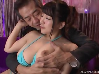 Man's endless cock makes her feel very staggering