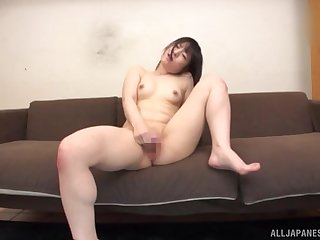 Awesome masturbating session prepayment the camera with Momokou Kanon